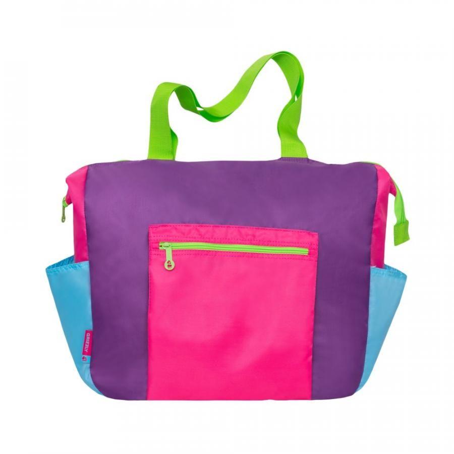 fd6a0ee3361b Купить женскую молодежную сумку с одним отделением на молнии и доставкой в  интернет-магазине GRIZZLY в Москве