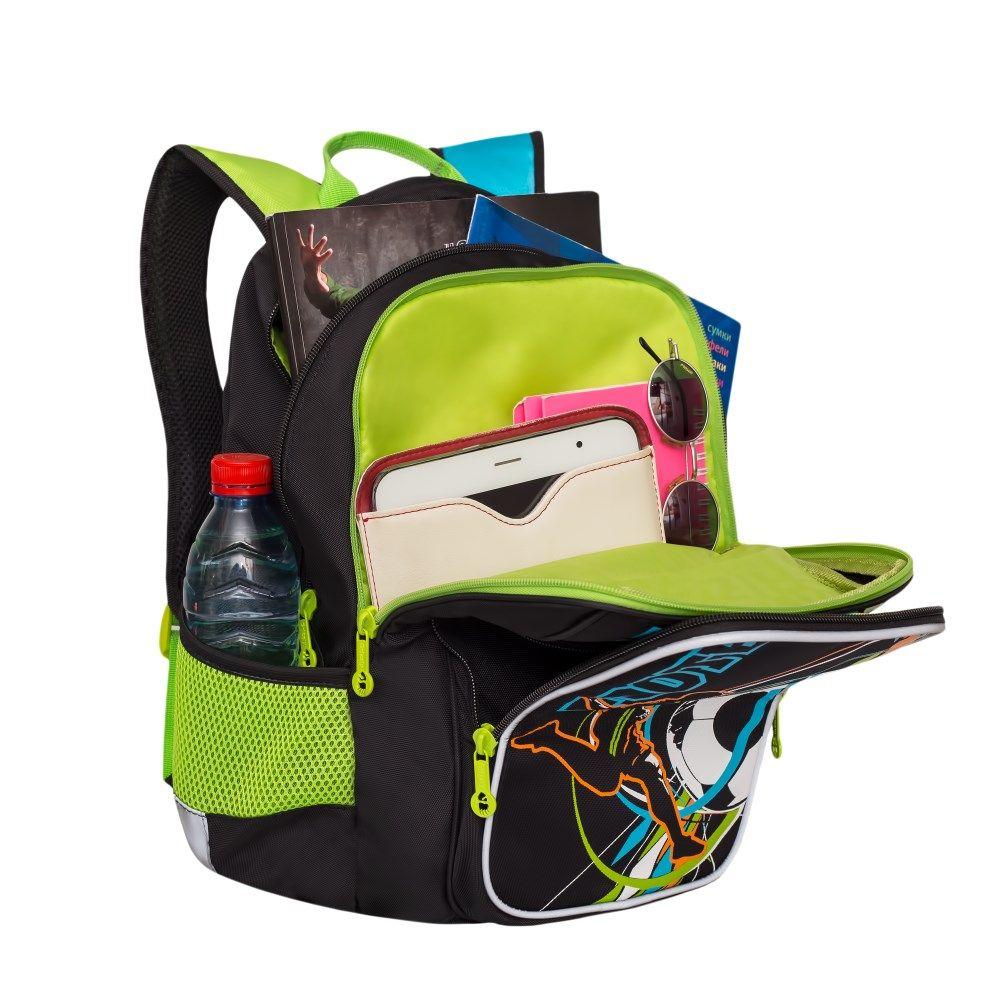 9be801ddc350 Купить анатомический школьный рюкзак для мальчика с двумя ...