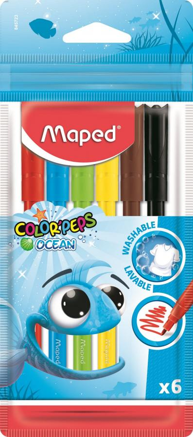 845723 Фломастеры Maped COLOR'PEPS OCEAN