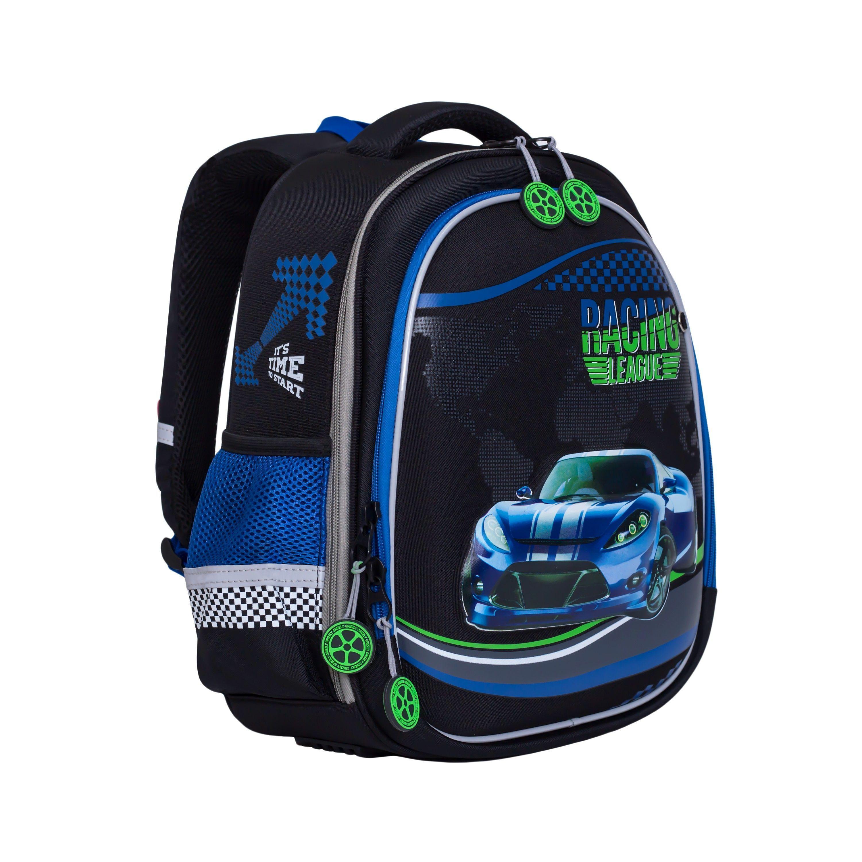 0c8329d28158 Купить школьный рюкзак для мальчика с машинкой и регулируемыми ...