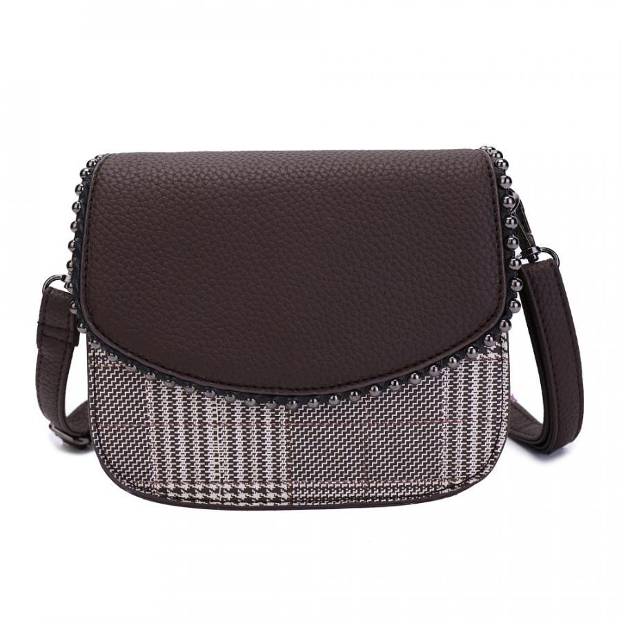 ad5b6d71e0e2 Купить женскую сумку Ors Oro из экокожи с карманом для карточки в ...