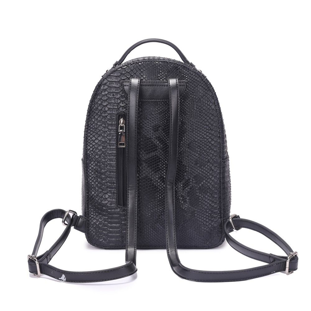 36398105a559 Купить женский рюкзак Ors Oro из экокожи с эффектом змеиной кожи и  доставкой в интернет-магазине GRIZZLY в Москве